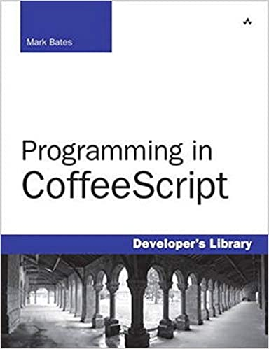 Programming in coffeescript by Mark Bates