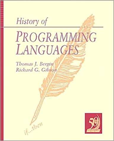 History of Programming Languages-II