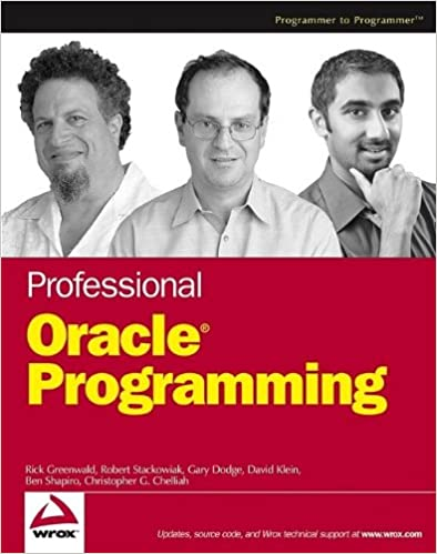 Professional Oracle Programming