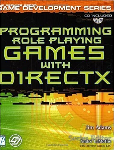 Programming Role-playing Games with DirectX 8.0