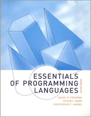 Essentials of Programming Languages - 2nd Edition