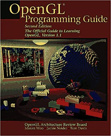 OpenGL Programming Guide: The Official Guide to Learning Opengl, Version 1.1. Second Edition by Mason Woo, Jackie Neider, Tom Davis