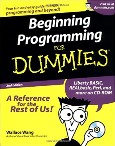 Beginning Programming For Dummies 2nd Edition by Wallace Wang
